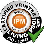 Certified Printer Siegel